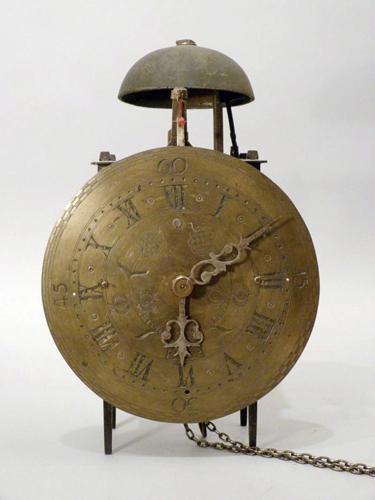 Cadran d'horloge en laiton