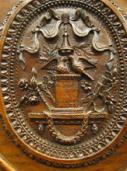 Détails d'une armoire normande