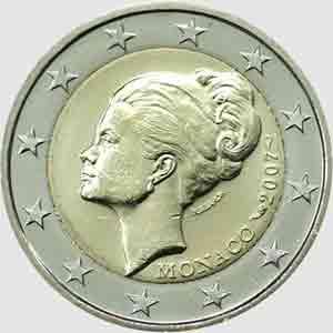 Euro Princesse Grâce de Monaco
