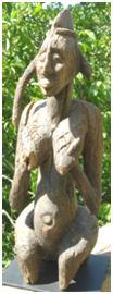 Sculpture tribale