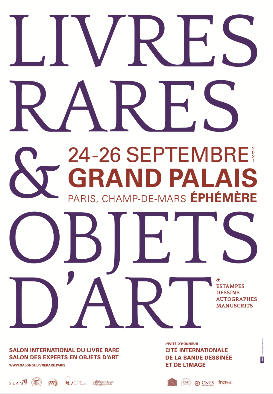 La Fnepsa participe au Salon du Livre rare et des objets d'art 2021